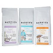 Barnie's Coffee Dessert Coffee Trio