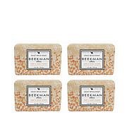 Beekman 1802 Honey & Orange Blossom Goat Milk Bar Soap 4-piece Set