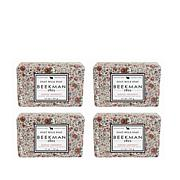 Beekman 1802 Honeyed Grapefruit Bar Soap 4-piece Set