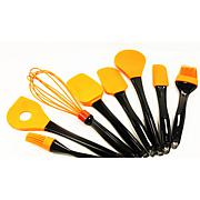BergHOFF® Geminis 8-Piece Silicone Utensil Set - Orange