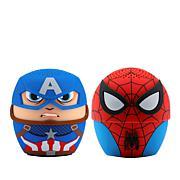 Bitty Boomers Marvel Spider-Man & Captain America Speaker 2-pack