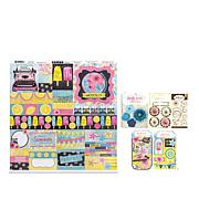 Bo Bunny Summer Mood Paper Craft Kit