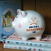 Born to be a Virginia Fan Piggy Bank