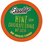 Brooklyn Bean Roastery Mint Chocolate Cookie Hot Cocoa K-Cup Pods 40pk