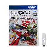 Brother ScanNCut Quilt Patterns Collection USB