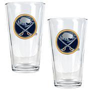 Buffalo Sabres 2pc Pint Ale Glass Set
