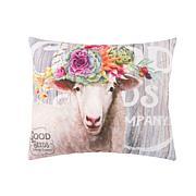 C&F Home Garden Story Sheep Pillow