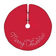 C&F Home Merry Christmas Tree Skirt
