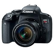 Canon EOS T7i DSLR Camera with 18-55mm Lens Case & SD Card