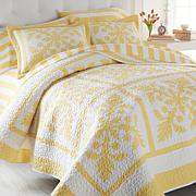 Carleton Varney 100% Cotton Hanalei Plantation 3-piece Quilt Set