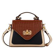 Carlos by Carlos Santana Colorblocked Envelope Flap Crossbody Bag