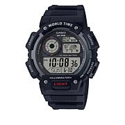 Casio Men's AE1400WH-1AV Digital Chronograph Watch