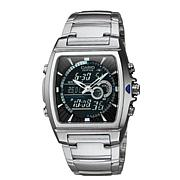 Casio Men's Ana-Digi Edifice Thermometer Bracelet Watch