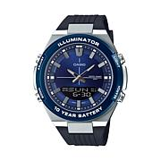 Casio Men's Multi-Function Watch, Black/Blue
