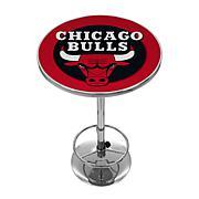 Chicago Bulls NBA Chrome Pub Table