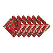 Chickadee Red Napkin 6-Pack