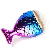 Chubby Mermaid Makeup Brush - Purple