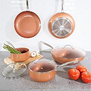 Classic Cuisine 8-piece Allumi-Shield Cookware Set