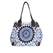 Clever Carriage Marrakesh Embroidered Shopper