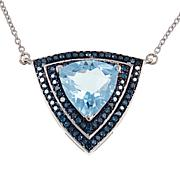 "Colleen Lopez Trilliant Gem and Diamond 18"" Necklace"