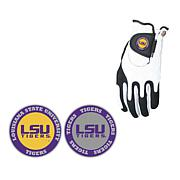 Collegiate Zero Friction Golf Glove and Ball Marker