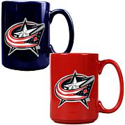 Columbus Blue Jackets 2pc Coffee Mug Set
