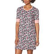 Comfort Code Soft & Light Elbow-Sleeve Sleep Shirt