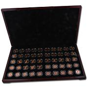 Complete Lincoln Memorial Proof Coin Collection