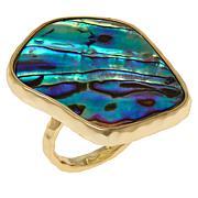 Connie Craig Carroll Jewelry Maya Abalone Freeform Ring