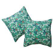 Cottage Collection 100% Cotton Stitched Euro Sham 2-pk - Garden