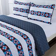 Country Living Home Collection Liberty Americana Quilt Set