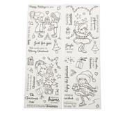 Crafter's Companion Annabel Spenceley Cute Holiday Stamps
