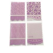 Crafter's Companion Everyday Embossing Folder Set of 4