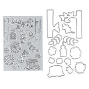 Crafter's Companion Gemini Nature Pop-Up Box Card Stamp and Die Set