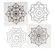 Crafter's Companion Gemini Stamp and Die Set 2-pack - Mandala