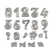 Crafter's Companion Numbers & Punctuation Dies