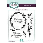 Creative Expressions Designer Collection A6 Stamp Set - Blooms