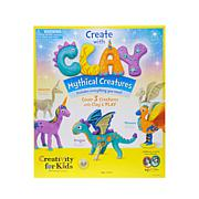 Creativity For Kids Create with Clay Mythical Creatures