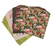 """Cricut® Anna Griffin® 24-pack 12"""" x 12"""" Deluxe Pattern Paper"""