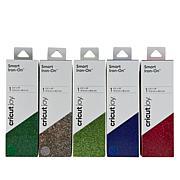 Cricut® Joy™ Smart Iron-On Glitter 5-Roll Bundle