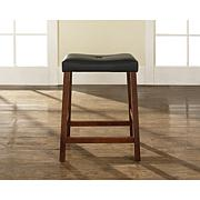 "24"" Upholstered Saddle Stool"