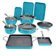 Curtis Stone 14-piece DuraPan Nonstick All-Purpose Cookware Set