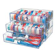 Deflecto Washi Tape and Embellishment 3-Drawer Storage