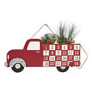 Design Imports Christmas Tree Truck Advent Calendar