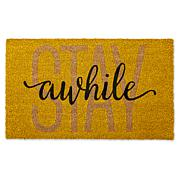 Design Imports STAY Awhile Doormat