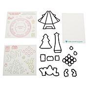 Diamond Press Christmas Tree Pop-Up Stamp and Die Set