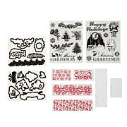 Diamond Press Traditional Christmas Stamp and Die Set
