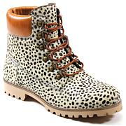 Diba True Draw Tap Leather Lace-Up Hiking Boot
