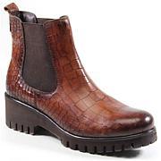 Diba True Red Wheel Leather Boot
