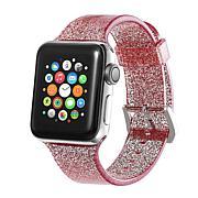Digital Basics Glitter Silicone Sport Band for Apple Watch